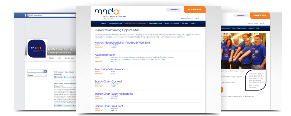 MND Association Facebook page