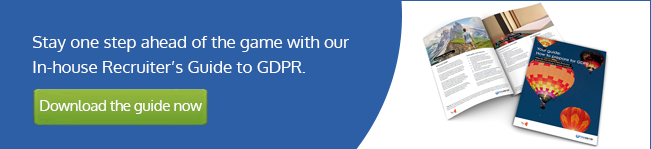 Link to download the In-house Recruiter's GDPR Guide